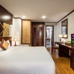 Отель May de Ville Old Quarter 4* Улучшенный номер с различными типами кроватей фото 3
