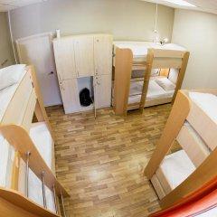 Patio Hostel Irkutsk Кровать в общем номере с двухъярусной кроватью фото 7