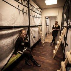 Copenhagen Backpackers Hostel Кровать в общем номере с двухъярусной кроватью фото 4