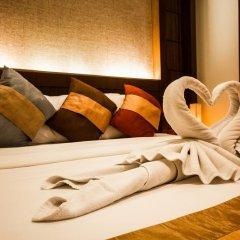 Отель Samui Sense Beach Resort 4* Улучшенный номер с различными типами кроватей фото 3