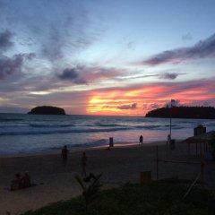 Отель Kata Blue Sea Resort пляж