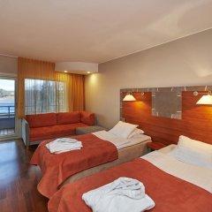 Отель Rantasipi Siuntion Kylpylä 3* Стандартный семейный номер с двуспальной кроватью