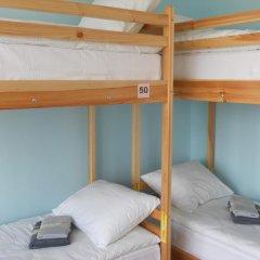 Хостел SunShine Кровать в общем номере с двухъярусной кроватью фото 13