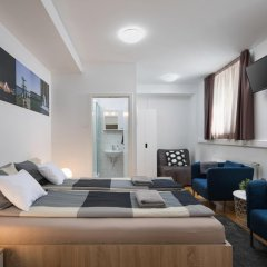 Hostel Bureau Номер Делюкс с различными типами кроватей фото 10