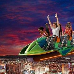Отель Stratosphere Hotel, Casino & Tower США, Лас-Вегас - 8 отзывов об отеле, цены и фото номеров - забронировать отель Stratosphere Hotel, Casino & Tower онлайн приотельная территория фото 2