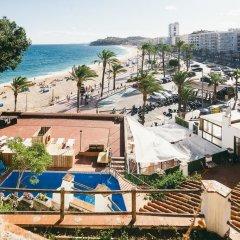 Отель Villa Sa Caleta Испания, Льорет-де-Мар - отзывы, цены и фото номеров - забронировать отель Villa Sa Caleta онлайн пляж