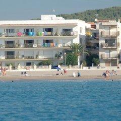 Отель Villa Service Apartamentos Aransol пляж