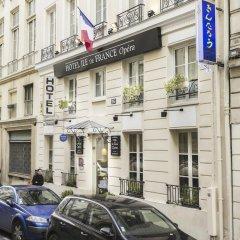 Отель Ile De France Opera Париж парковка