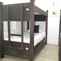 Отель Hostal Pajara Pinta Кровать в общем номере с двухъярусной кроватью фото 18