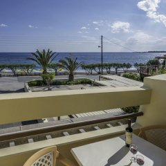Tylissos Beach Hotel 4* Стандартный номер с двуспальной кроватью фото 7