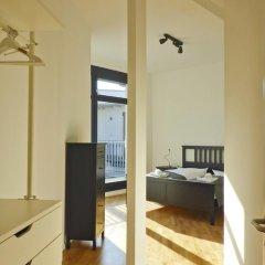Five Elements Hostel Leipzig Стандартный номер с двуспальной кроватью (общая ванная комната) фото 7