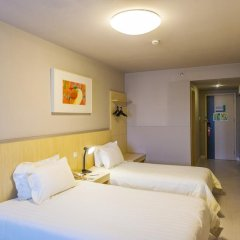 Отель Jinjiang Inn Xi'an Mingguang Road комната для гостей фото 8