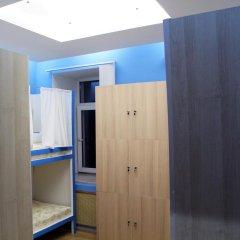 Хостел Плед на Самотёчной Кровать в общем номере с двухъярусной кроватью фото 17