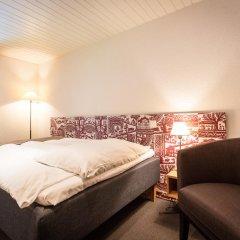 Отель Landhaus Швейцария, Занен - отзывы, цены и фото номеров - забронировать отель Landhaus онлайн комната для гостей фото 3