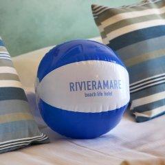Riviera Mare Beach Life Hotel 3* Стандартный номер с различными типами кроватей фото 20