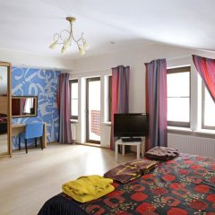 Гостиница Лесная Рапсодия Стандартный номер с двуспальной кроватью фото 12