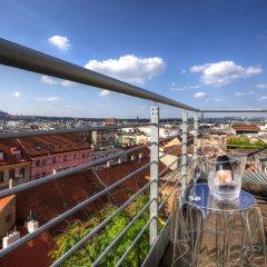 Отель Krakovska Terraces балкон