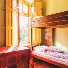 Хостел Элементарно Кровать в общем номере с двухъярусной кроватью фото 19