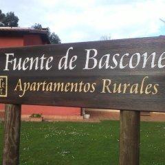 Отель Apartamentos Rurales La Fuente de Báscones