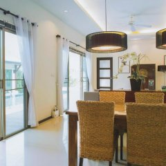 Отель Two Villas Holiday Oriental Style Layan Beach 4* Вилла с различными типами кроватей фото 7