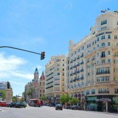 Отель Melia Plaza Valencia 4* Улучшенный номер с различными типами кроватей