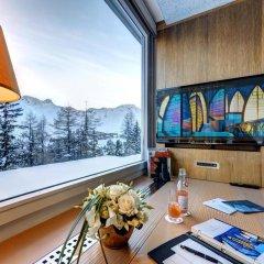 Tschuggen Grand Hotel Arosa 5* Стандартный номер с различными типами кроватей