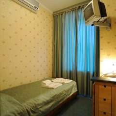 Отель Лермонтов Омск комната для гостей фото 11