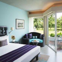 Отель Taj Bentota Resort & Spa Улучшенный номер с различными типами кроватей