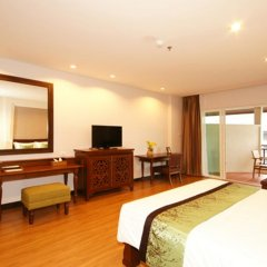 Отель The Heritage Pattaya Beach Resort 4* Номер Делюкс с различными типами кроватей фото 6