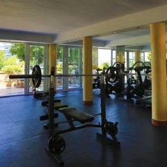 Отель Agua Beach Испания, Пальманова - отзывы, цены и фото номеров - забронировать отель Agua Beach онлайн фитнесс-зал фото 2