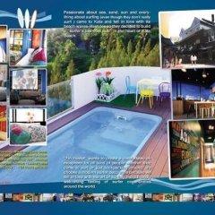 Fin Hostel Phuket пляж Ката бассейн фото 3