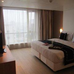 Отель Citadines Central Xi'an Представительский номер с различными типами кроватей фото 7