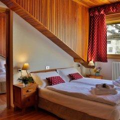 Hotel Roseg Киеза-ин-Вальмаленко комната для гостей фото 3