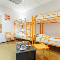 Сафари Хостел Кровать в общем номере с двухъярусными кроватями фото 24