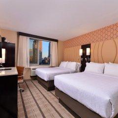 Отель Holiday Inn New York City - Times Square 3* Стандартный номер с различными типами кроватей