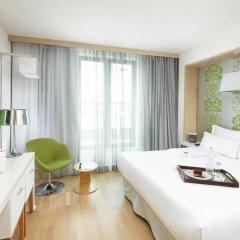Отель Occidental Praha Five 4* Представительский номер с различными типами кроватей фото 2