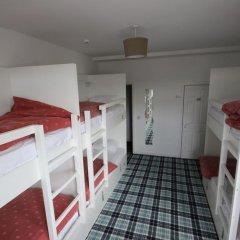 Отель Tartan Lodge Кровать в общем номере с двухъярусной кроватью фото 8