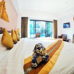Отель Navatara Phuket Resort 4* Улучшенный номер с различными типами кроватей фото 2