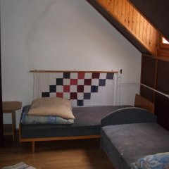 Гостиница Vizimalom Kemping, Panzió és Étterem Стандартный семейный номер с двуспальной кроватью (общая ванная комната) фото 2