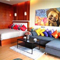 Апартаменты Sea & Sky Karon 2 bedrooms Apartment Sea View комната для гостей фото 5