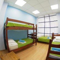 Fantomas Hostel Номер Эконом разные типы кроватей фото 9