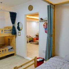Отель I'm Green House 3* Кровать в общем номере с двухъярусной кроватью фото 6