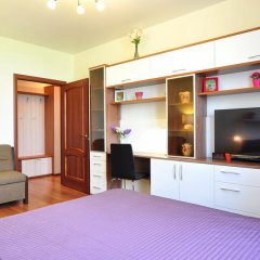 Апартаменты Apartment Evia Санкт-Петербург комната для гостей фото 4