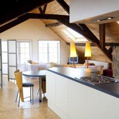 Отель Guesthouse Maison de la Rose 3* Стандартный семейный номер с различными типами кроватей фото 7