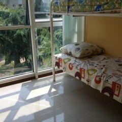 Hostel on Navaginskaya Кровать в женском общем номере с двухъярусной кроватью