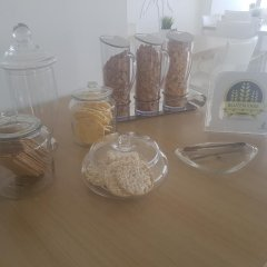 Les Palmiers Beach Hotel in Larnaca, Cyprus from 124$, photos, reviews - zenhotels.com in-room dining photo 2