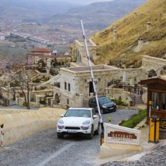 Отель Kayakapi Premium Caves - Cappadocia парковка