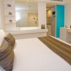 Отель Grand President Bangkok 4* Студия с различными типами кроватей фото 3