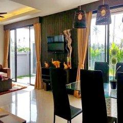 Отель Charming Pool Villa в номере