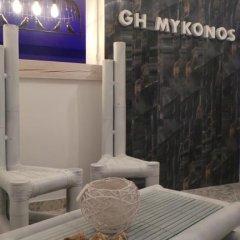 Гостиница Guest House Mykonos бассейн